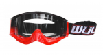 Wulfsport MX Brille Shade rot